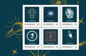 Briefmarken zu jedem Sternzeichen
