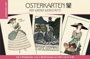 Heft mit Osterkarten der Wiener Werkstätte