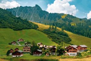 Malbun in der Bergwelt Lliechtensteins