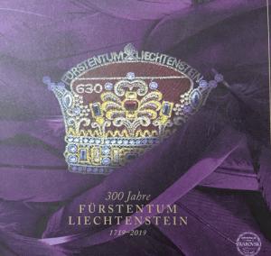 Sonderedition zum Jubiläum 300 Jahre Fürstentum Liechtenstein