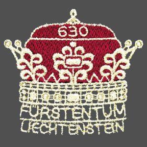 Die Sondermarke zum Jubiläum Liechtenstein