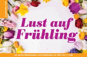 Der Frühling macht auch Lust, Postkarten zu verschicken