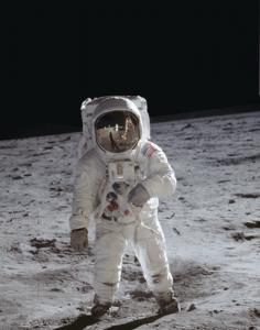 Buzz Aldrin auf dem Mond