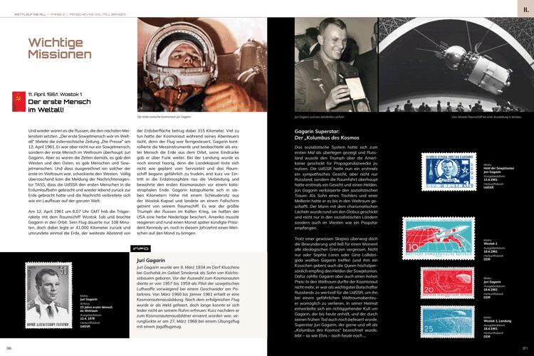 Spannendes aus der Geschichte der Raumfahrt