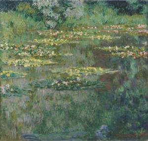 Seerosen aus Claude Monets Garten (gemeinfrei/Wikimedia)