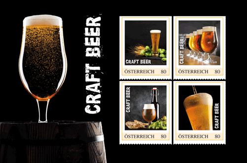 Craft-Bier: Biergenuss auf Briefmarken
