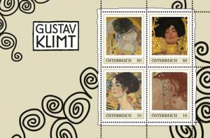 Gustav Klimt Briefmarken