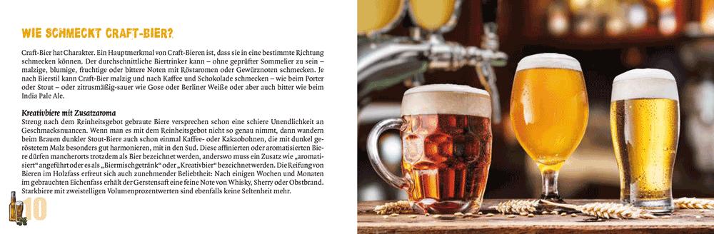 Wie schmeckt Craft-Bier?