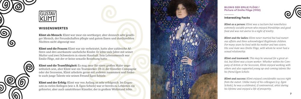 Gustav Klimt Wissenswertes