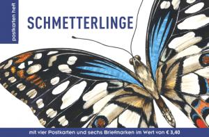 Bunte Schmetterlinge machen Freude