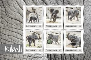 Kibali auf Briefmarken
