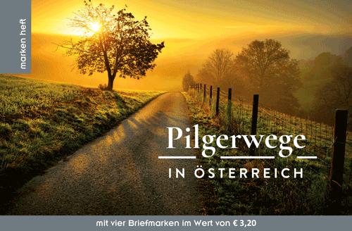 Das Markenheft: Pilgerwege in Österreich