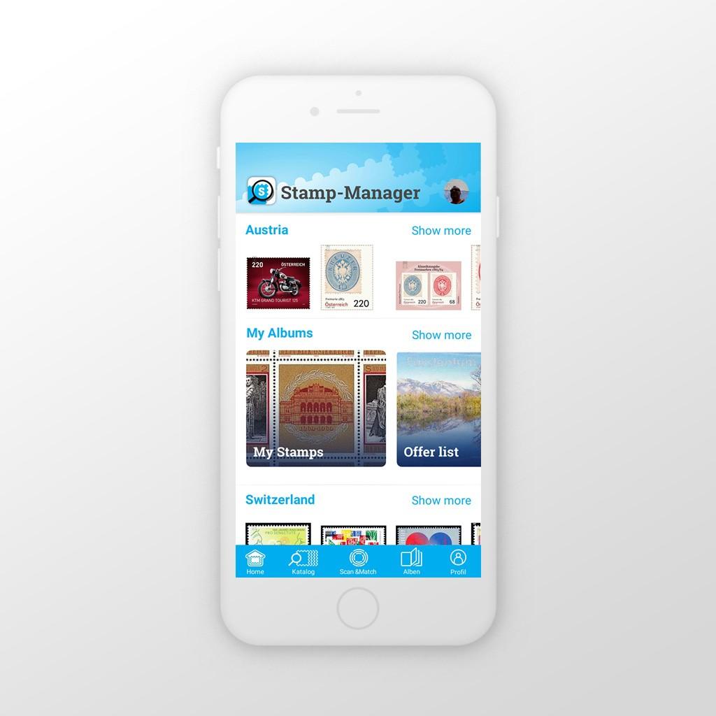 Die Stamp-Manager App: einfach und hilfreich