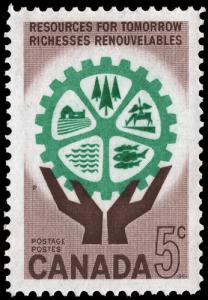Umweltschutzmarke aus Kanada
