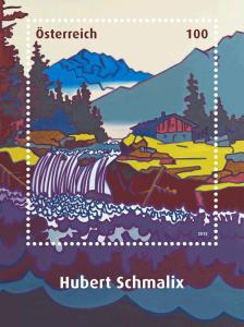 2015: Landschaft von Hubert Schmalix