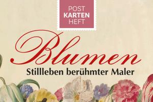 Blumenstillleben auf Postkarten
