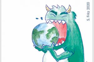 Das Konsum-Monster verschlingt die Erde
