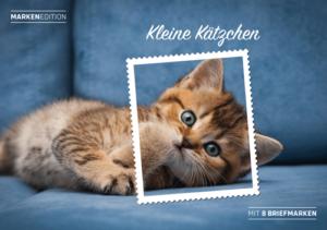 Markenedition Kleine Kätzchen
