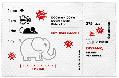 Corona - die Briefmarke, die auch Gutes tut