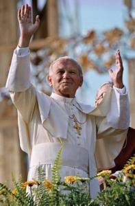 Postkarten von Johannes Paul II.