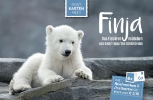 Das Postkartenheft über Finja