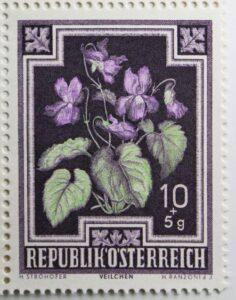 Veilchenmarke aus 1948