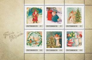 Weihnachtliche Briefmarken