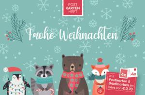 Weihnachten mit Tieren